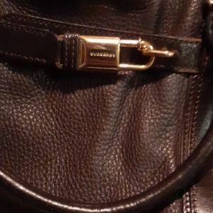 Burberry satchel.